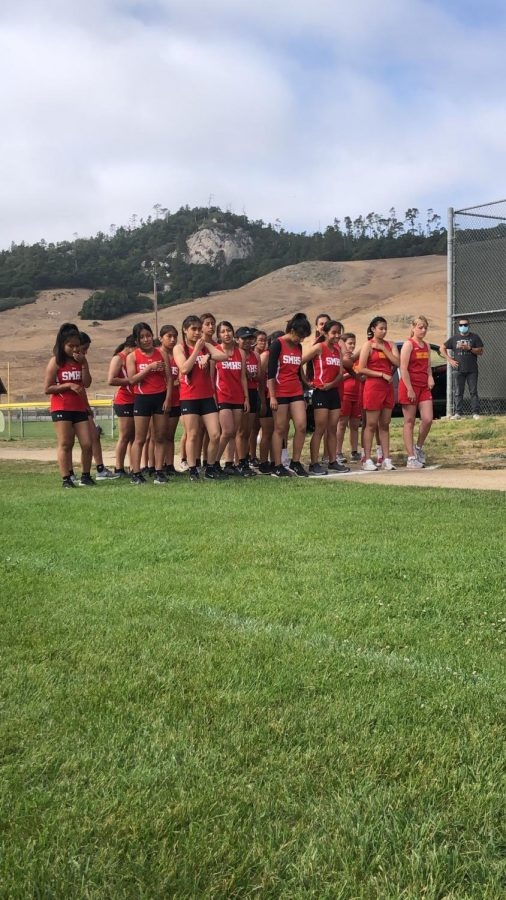 Saints+Cross-Country+Team+Back+to+Course+Racing