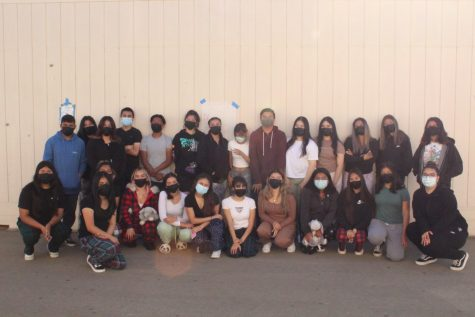 This was one of the pictures taken on Pajama Day.