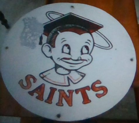 One of the oldest Sammy the Saint plaques we could find.