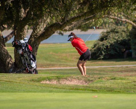 With the girls golf season winding down, the final home match took place October 13, 2021.